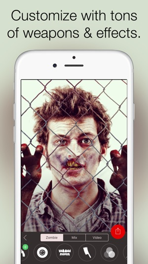 Zombify - Turn into a Zombie Capture d'écran
