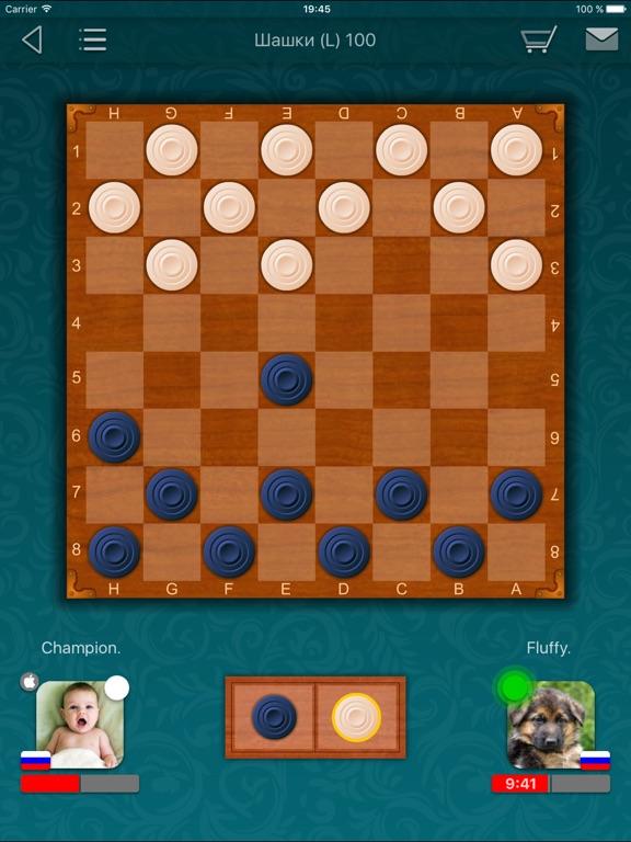 Шашки LiveGames на iPad