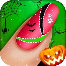 Halloween Monster Nail Salon for Girls and Kids