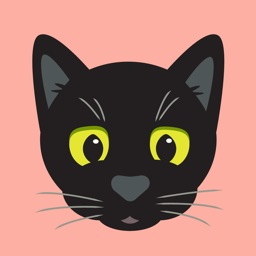 Black Kitty Sticker Pack