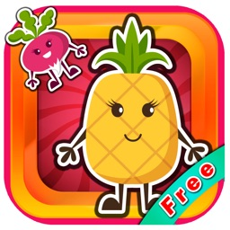 Fruits Learn English : Education game for Kids