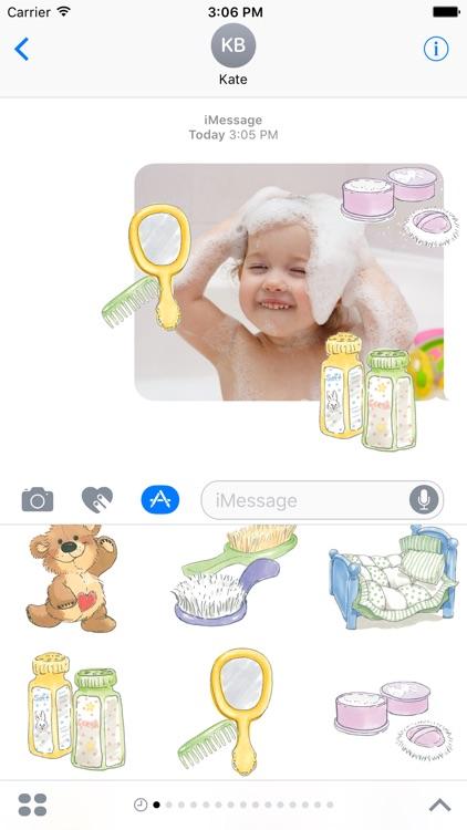 Baby Photo Selfie Suzy's Zoo Stickers