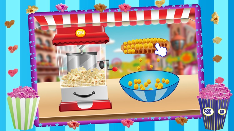 Popcorn Maker Cooking Games for kids screenshot-4