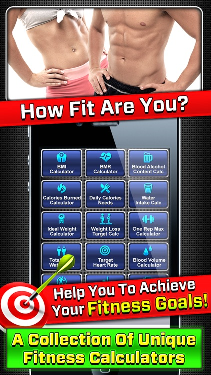 9+ in 1 : Fitness Calculators
