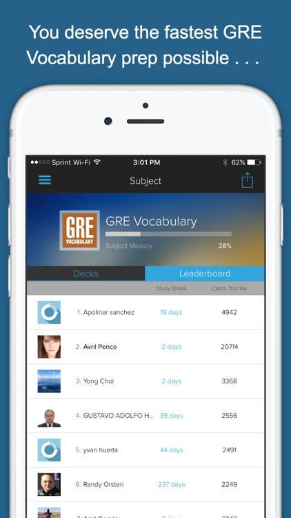 GRE Vocab Genius screenshot-3
