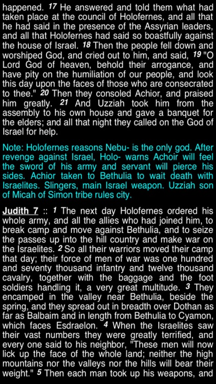 Summary Old Testament Apocrypha (Part 4) screenshot-3