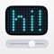 LEDit turns your iPhone/iPad into an awesome ticker display