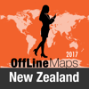 New Zealand Offline Map and Travel Trip Guide