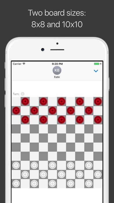 Checkers for iMessage Screenshot