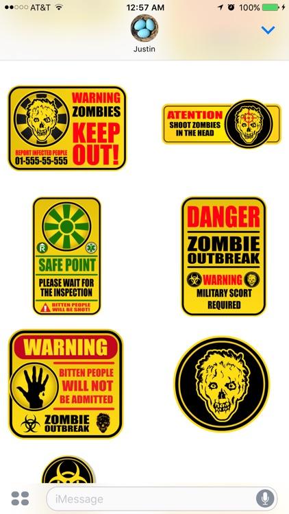 Zombie Stickers screenshot-4