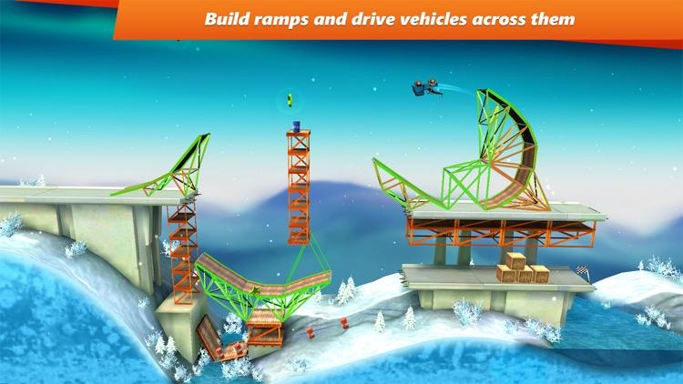 Bridge Constructor Stunts screenshot-0