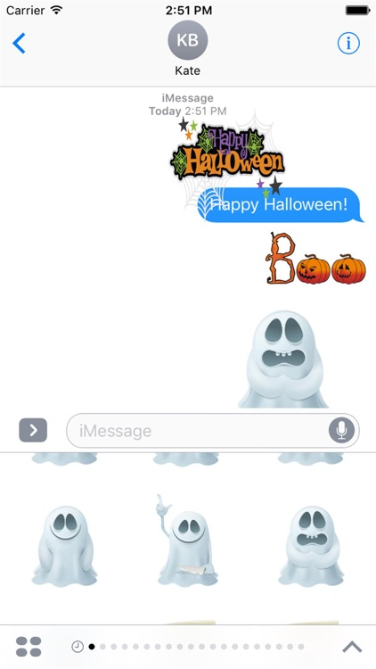 Halloween Stickers 2 screenshot-0