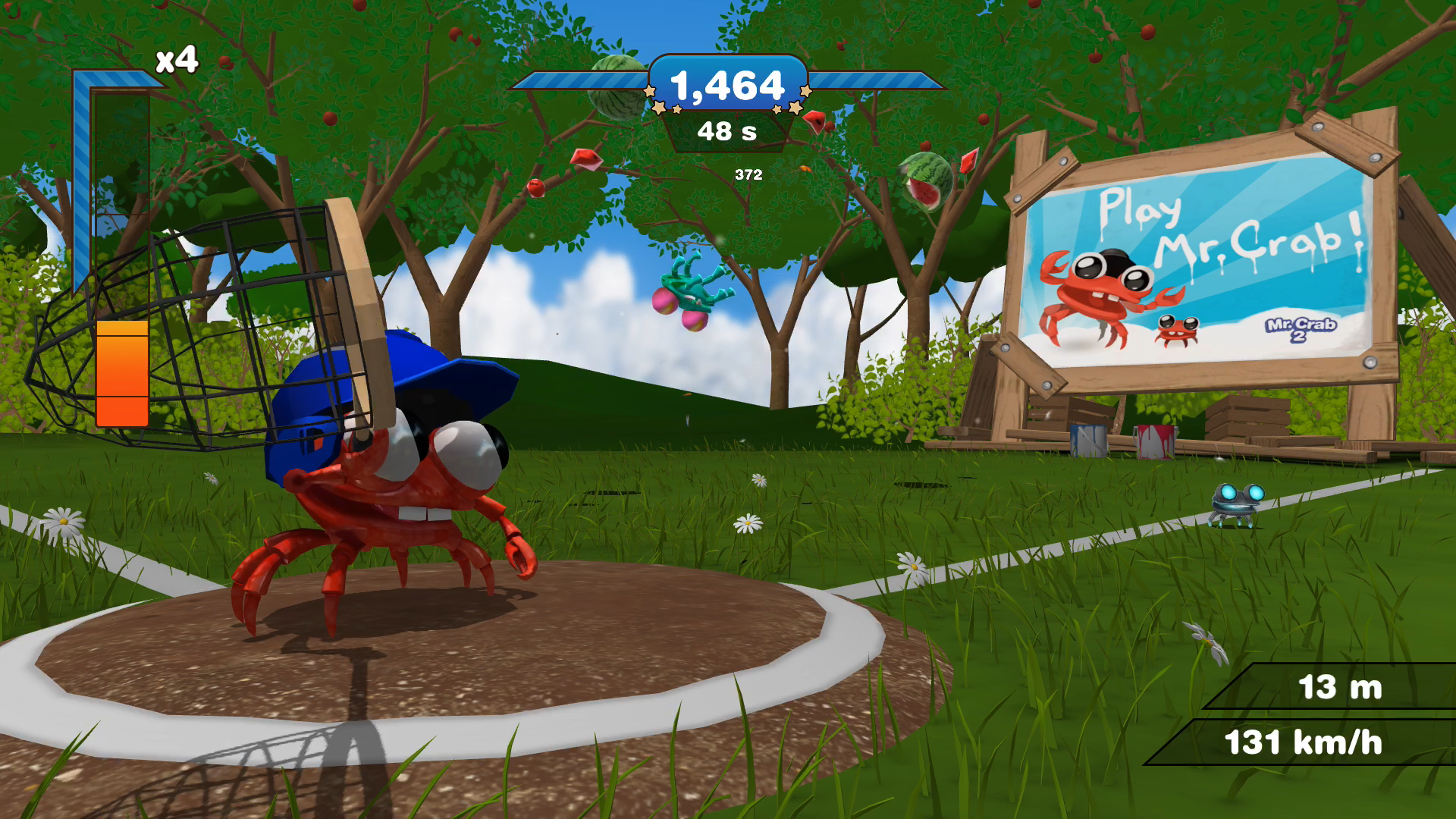 Mr. Crab Baseball screenshot 4