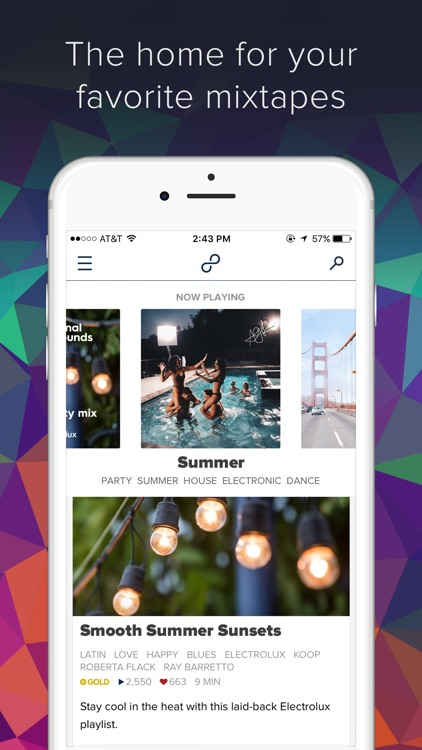 8tracks Playlist Radio - Top Music App screenshot-0