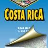 Costa Rica. Road map.
