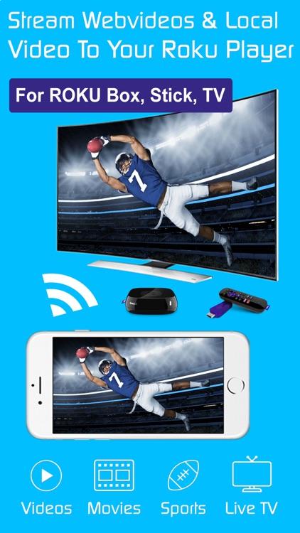 Video & TV Cast Pro for Roku: Stream HD Movies App