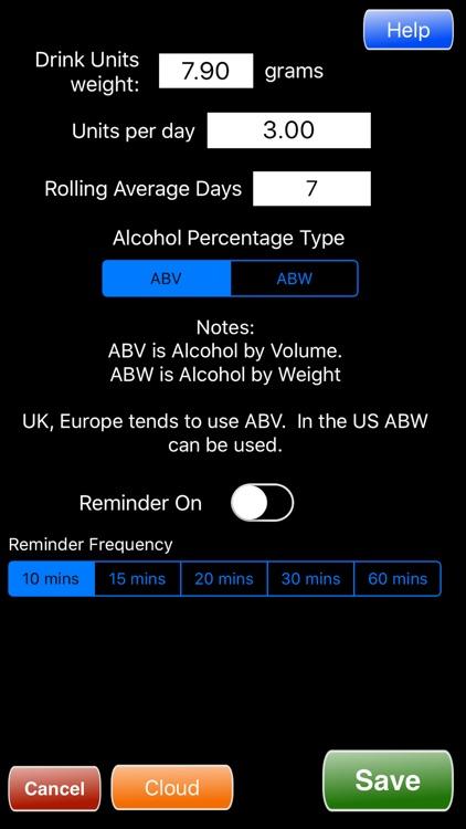Alcohol Units Calculator screenshot-3