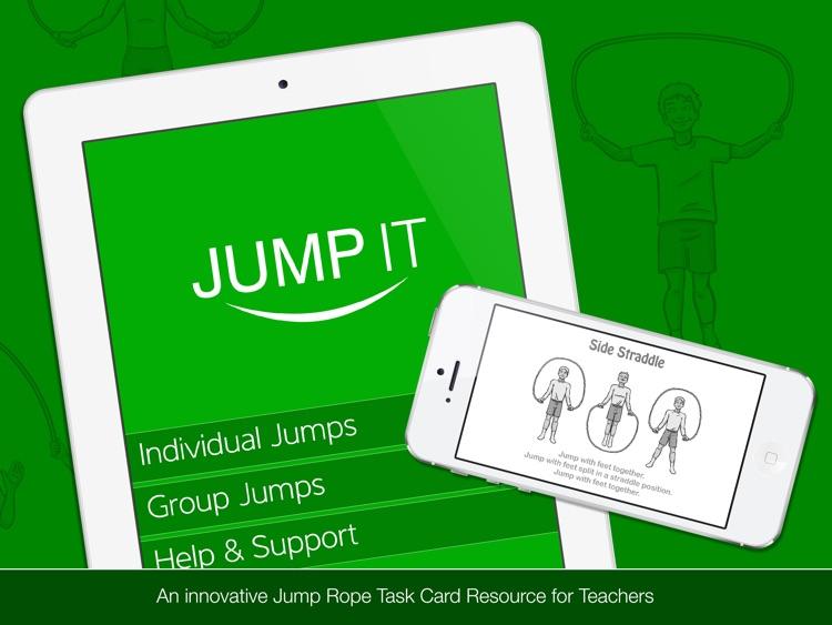 Jump It HD - Jump Rope Task Card Resource