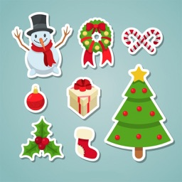 HD Xmas Sticker