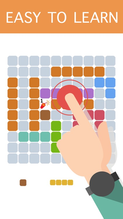 10-10 Colors Block Puzzle Free to Fit : Logic Stack Dots screenshot-4
