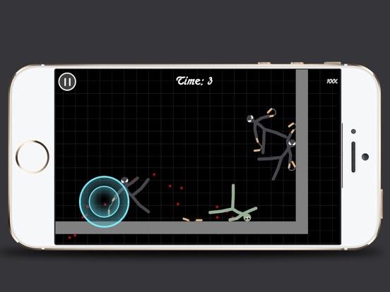 Stickman Warriors Heroes на iPad