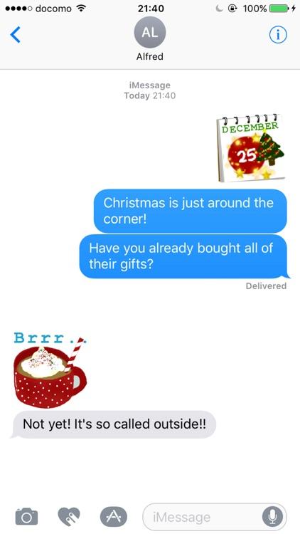 Tis The Season Christmas Stickers screenshot-3