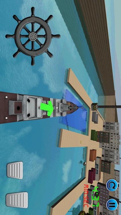 3D Cargo Ship Car Transporter Simulator 2017 screenshot-3