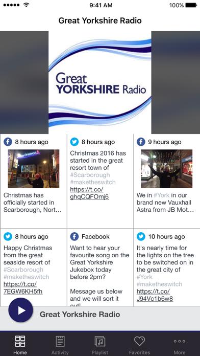 Great Yorkshire Radio screenshot one