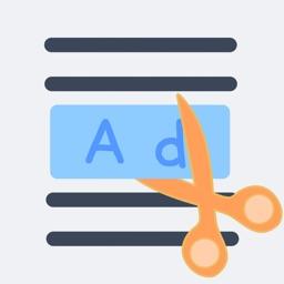 ブログ広告ブロッカー - Webページをきれいに表示