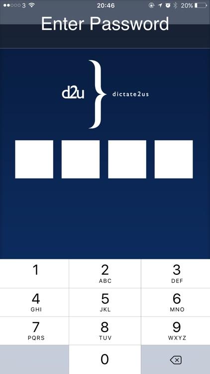 dictate2us: Voice Recorder - Transcription Service screenshot-3