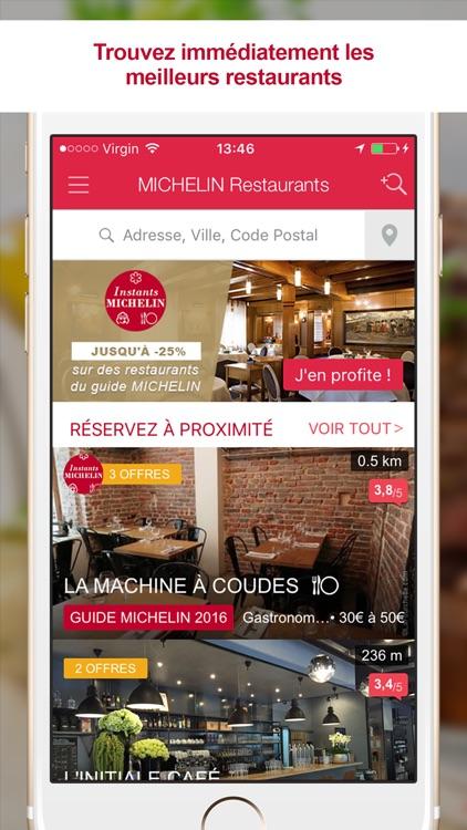 MICHELIN Restaurants - Recherche et Réservation screenshot-0