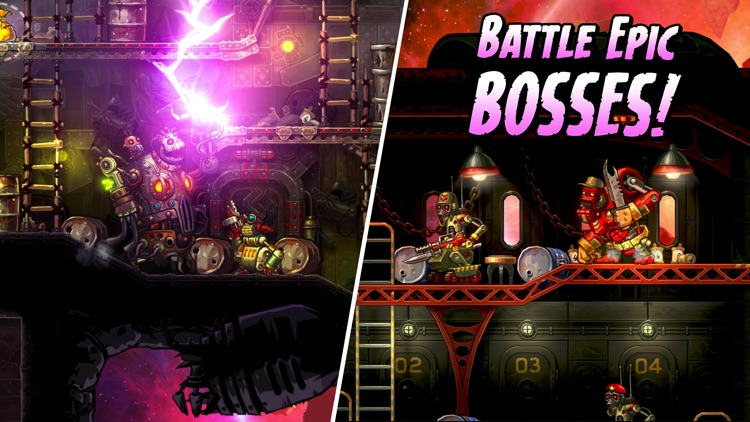 SteamWorld Heist screenshot-4
