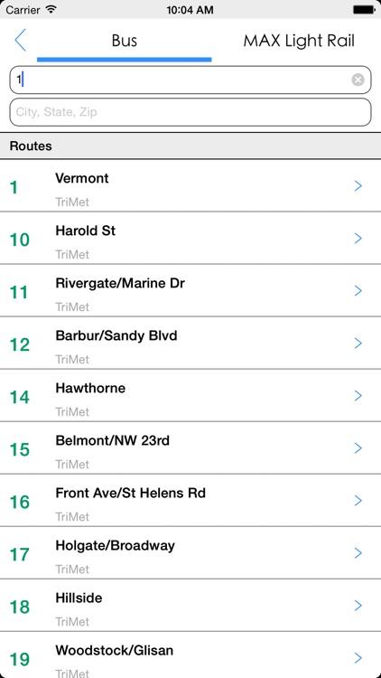 Transit Tracker - Portland (TriMet) screenshot-4