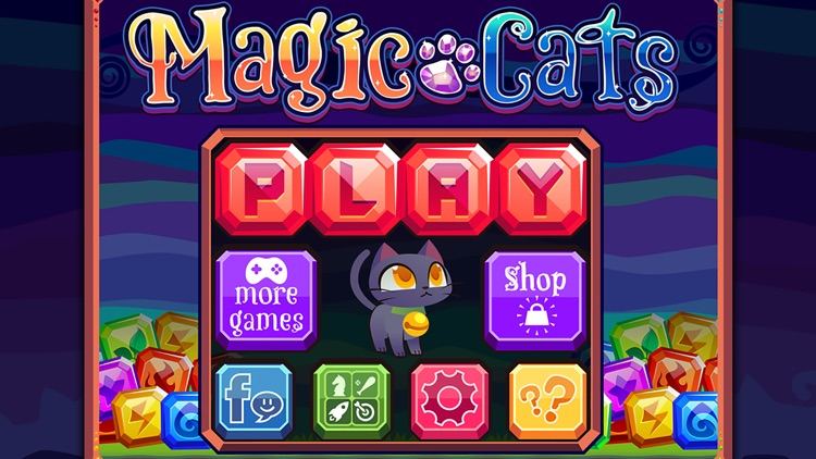 Magic Cats - Match 3 Puzzle Game with Pet Kittens screenshot-3