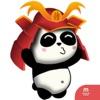 SAMURAI PANDA (Animated) stickers for iMessage