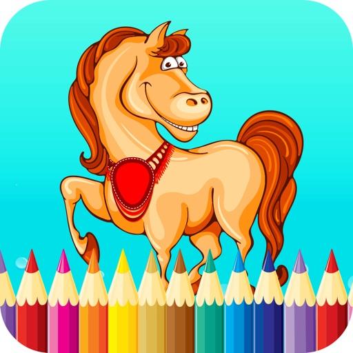 Horse Coloring-Interactive Colorfy Secret Editing