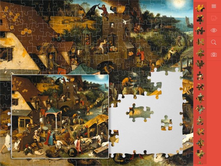 Jigsaw Puzzles Art screenshot-3