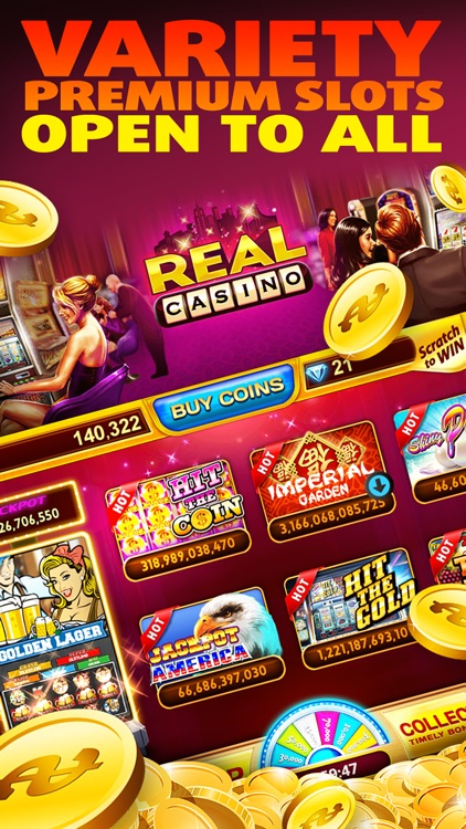 Real Casino Slots screenshot-0