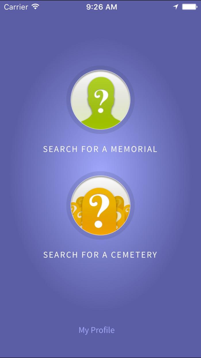 Find A Grave Screenshot