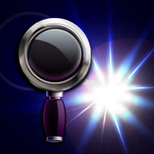 Magnifying Glass with Flashlight app