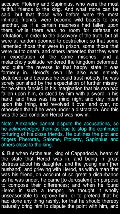 Summary Flavius Josephus (part 5) screenshot-3