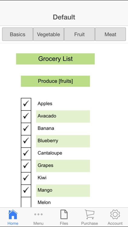 Shopping Lists App
