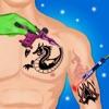 纹身设计展位虚拟人体艺术家 & 纹身制造商
