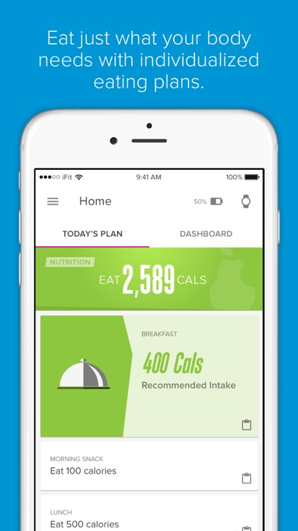 iFit—All-day Fitness Coaching screenshot-2