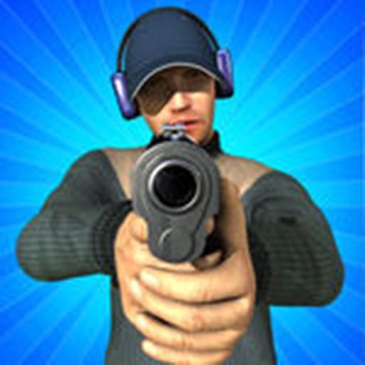 стрельбище 3D - без стрельбы полиции игры!