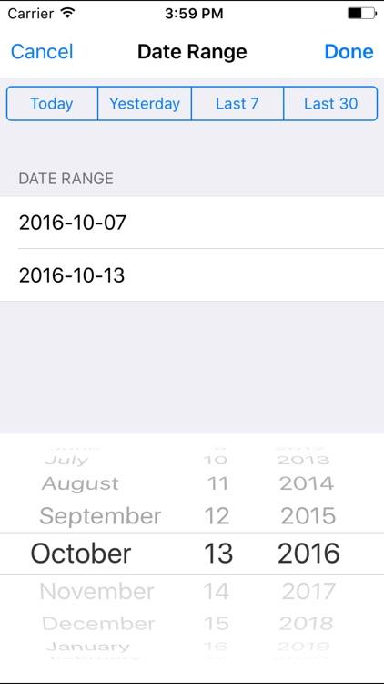 Fishead Analytics - Free App for Google Analytics screenshot-4