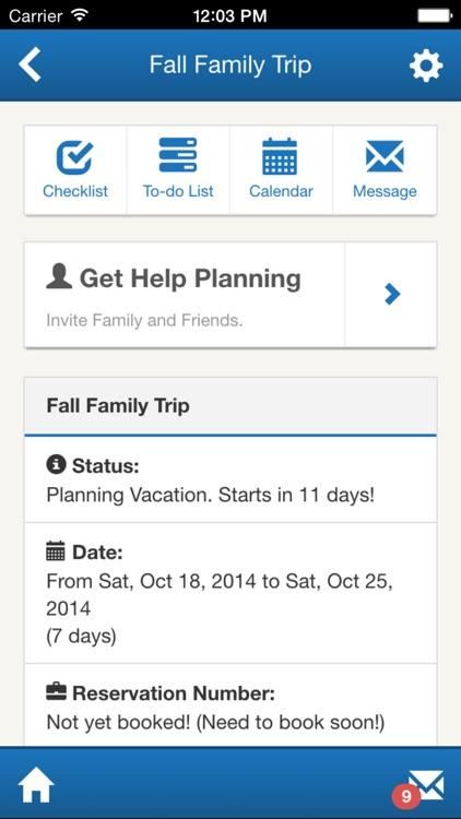 Kapp Lyons Vacation Planner