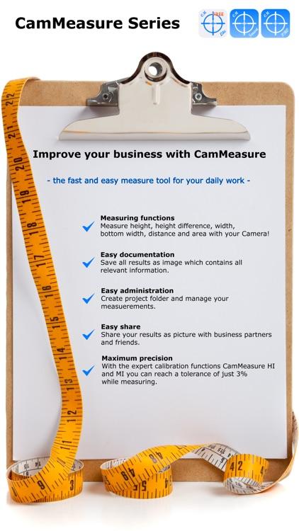 CamMeasure Pro Measure height width distance area screenshot-4