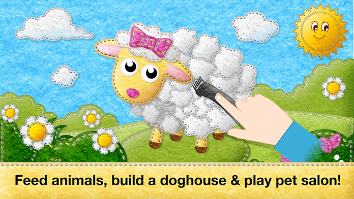 Feed Animals: Toddler games for 1 2 3 4 year olds Screenshot