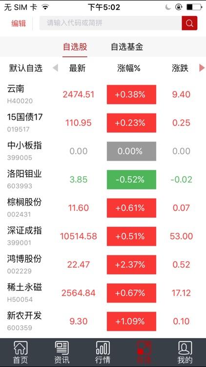 和讯股票 screenshot-3